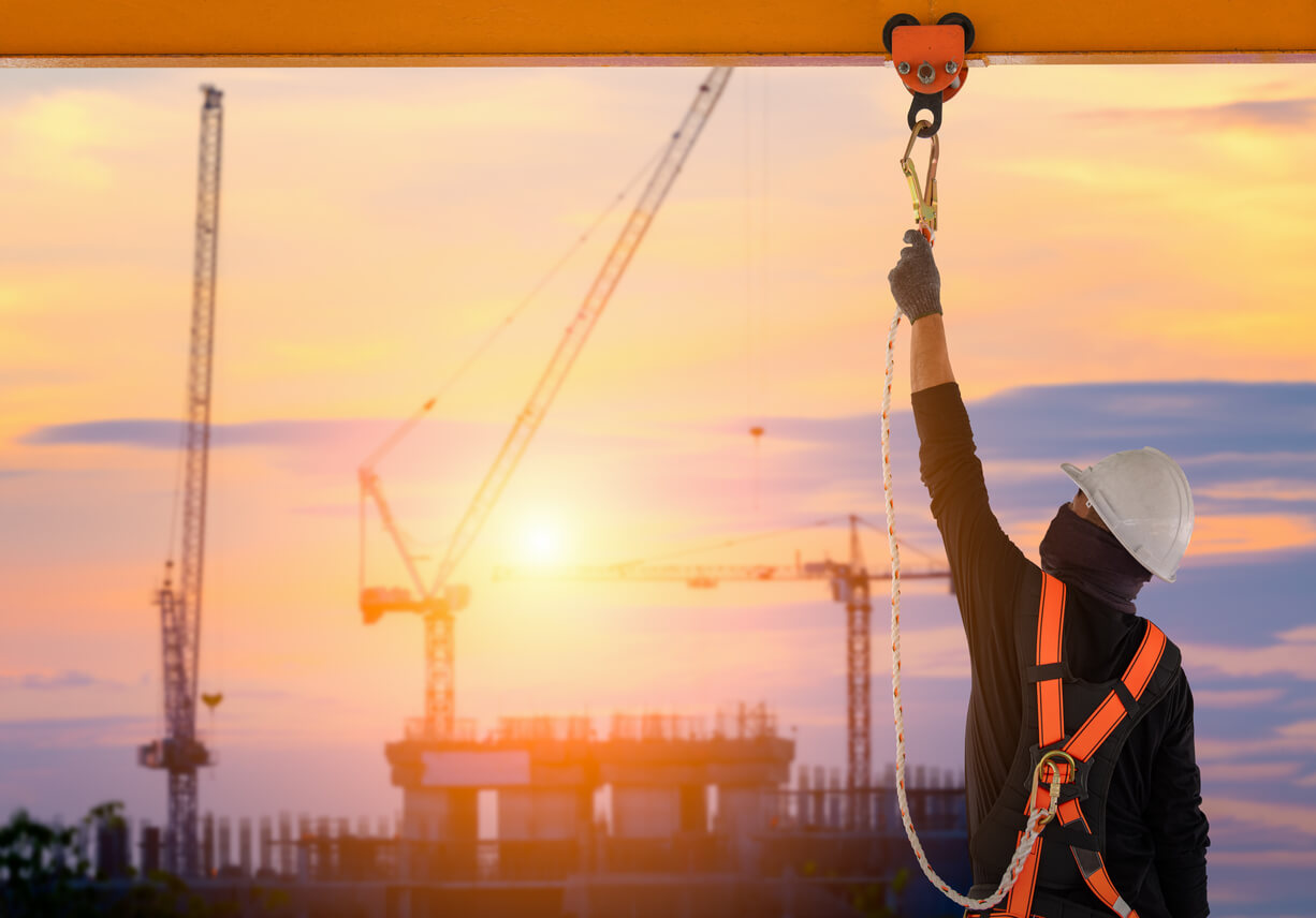 fall protection safety in construction