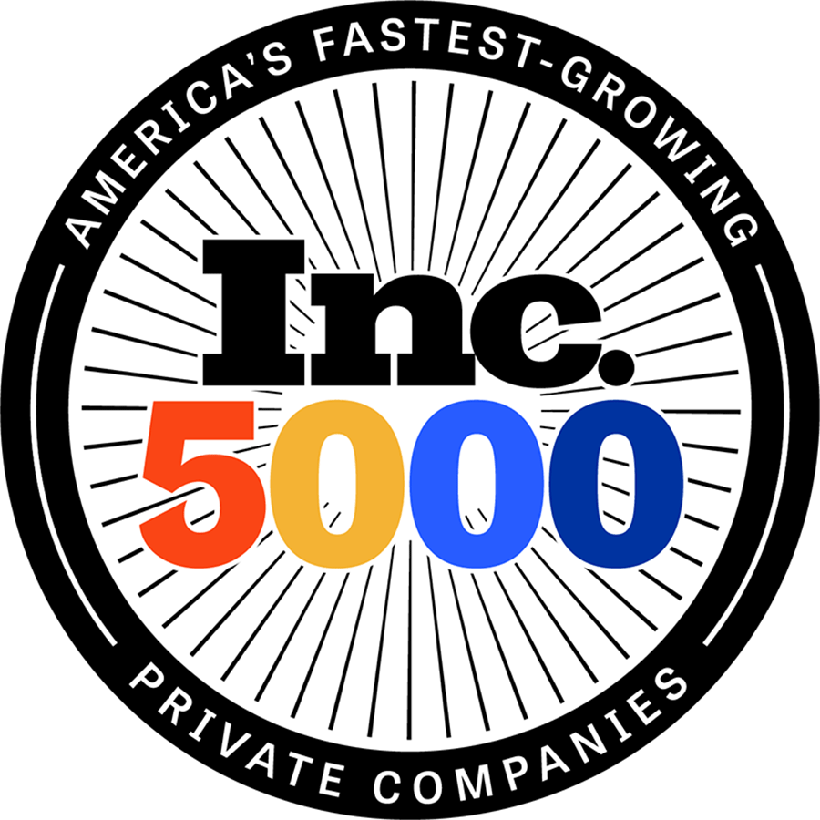 Inc 5000 award badge