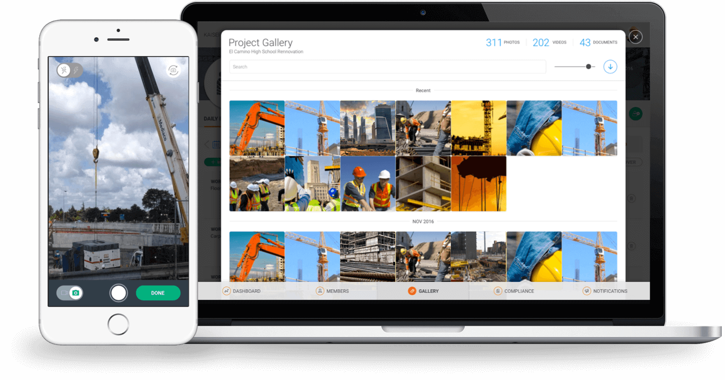 Construction Photo Management Software