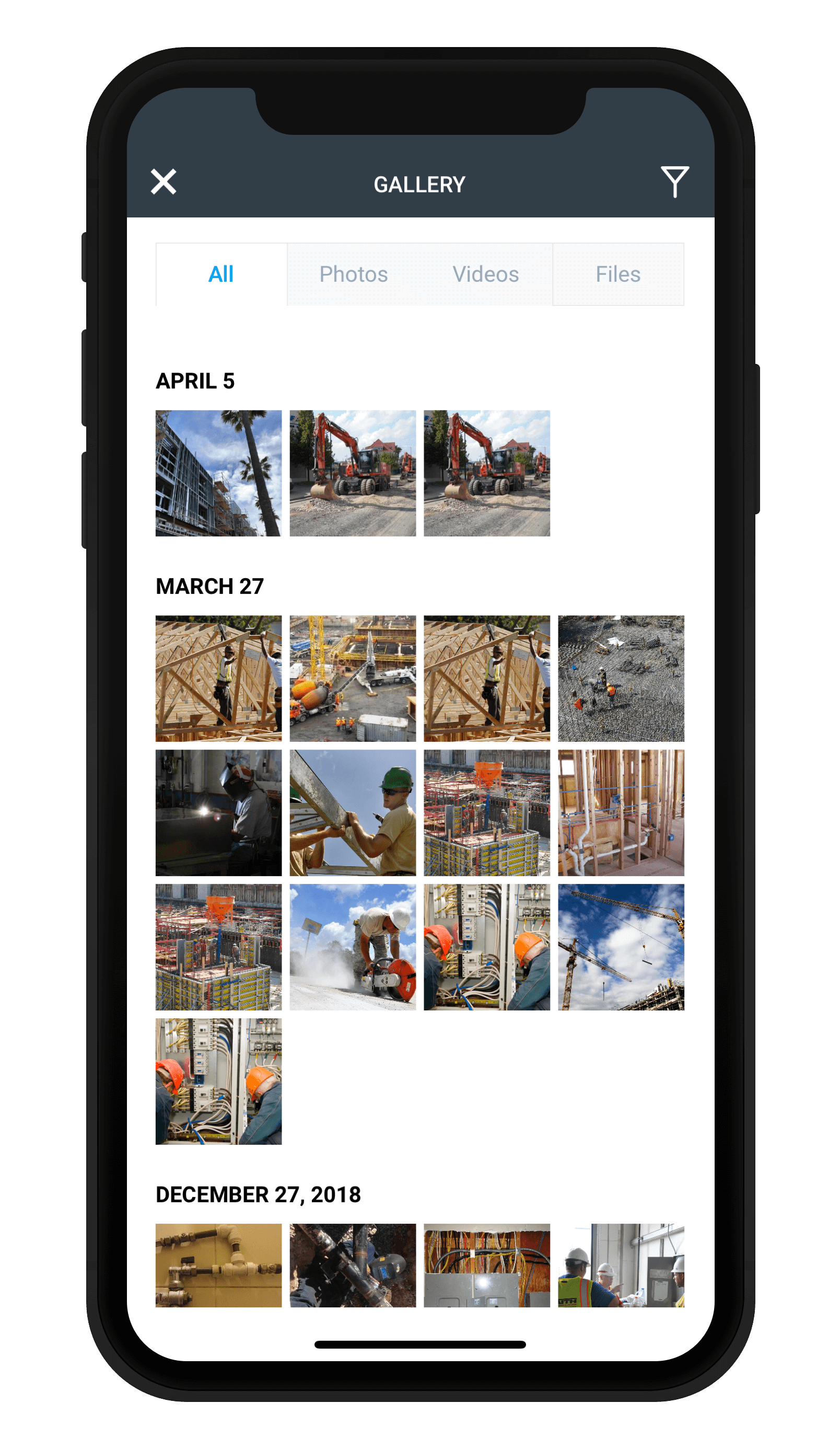 Upload Photos To Construction Daily Reports