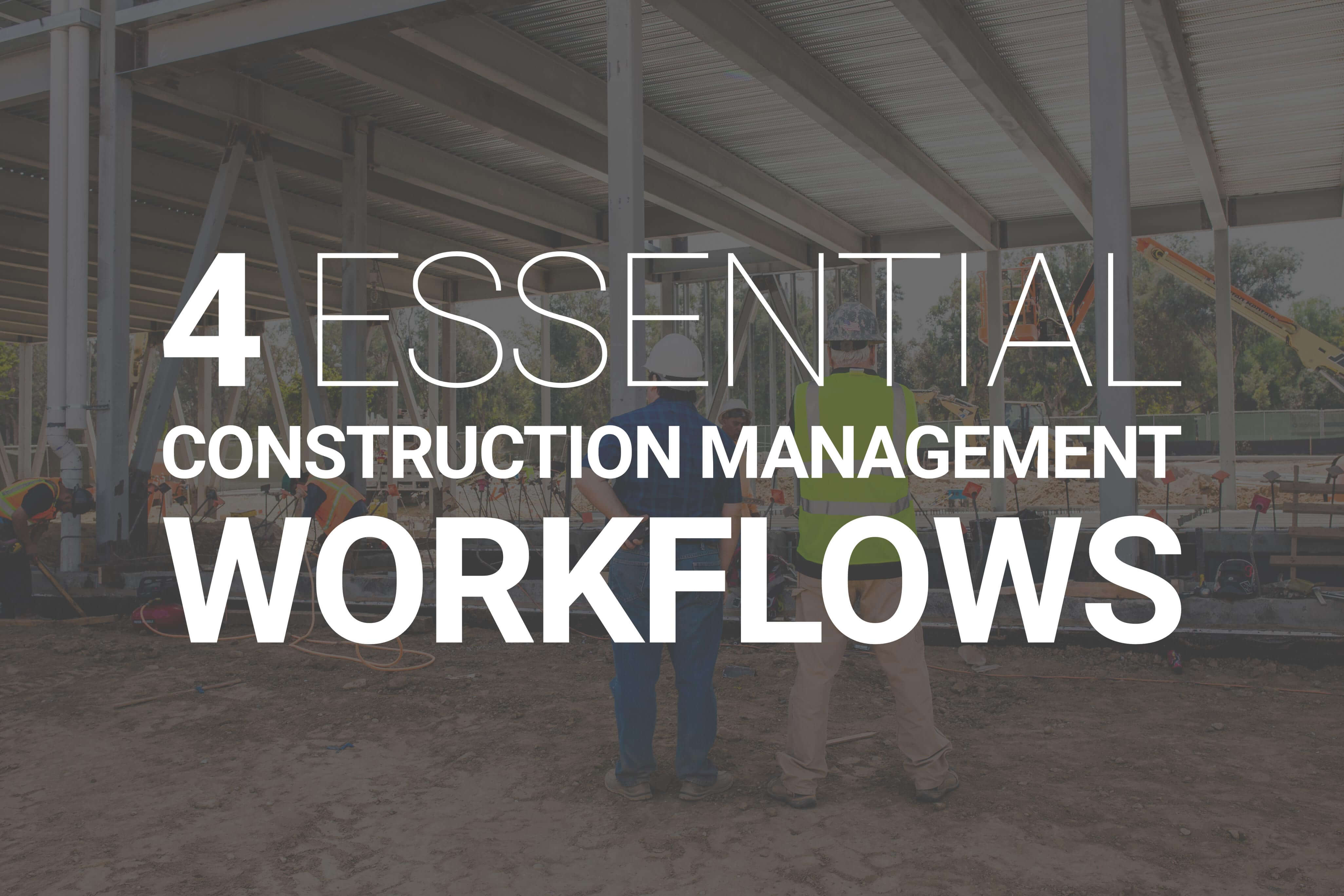 construction workflow ebook