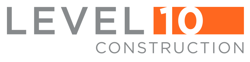 level 10 construction logo