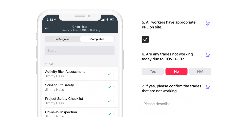 Checklists feature