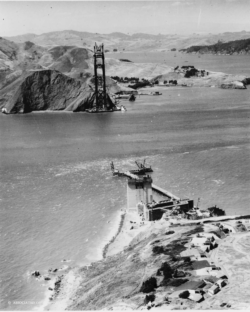 golden gate bridge history construction