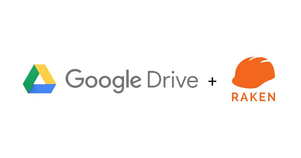 google drive raken integration